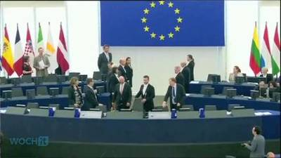 News video: Ukraine Parliament Ratifies EU Pact